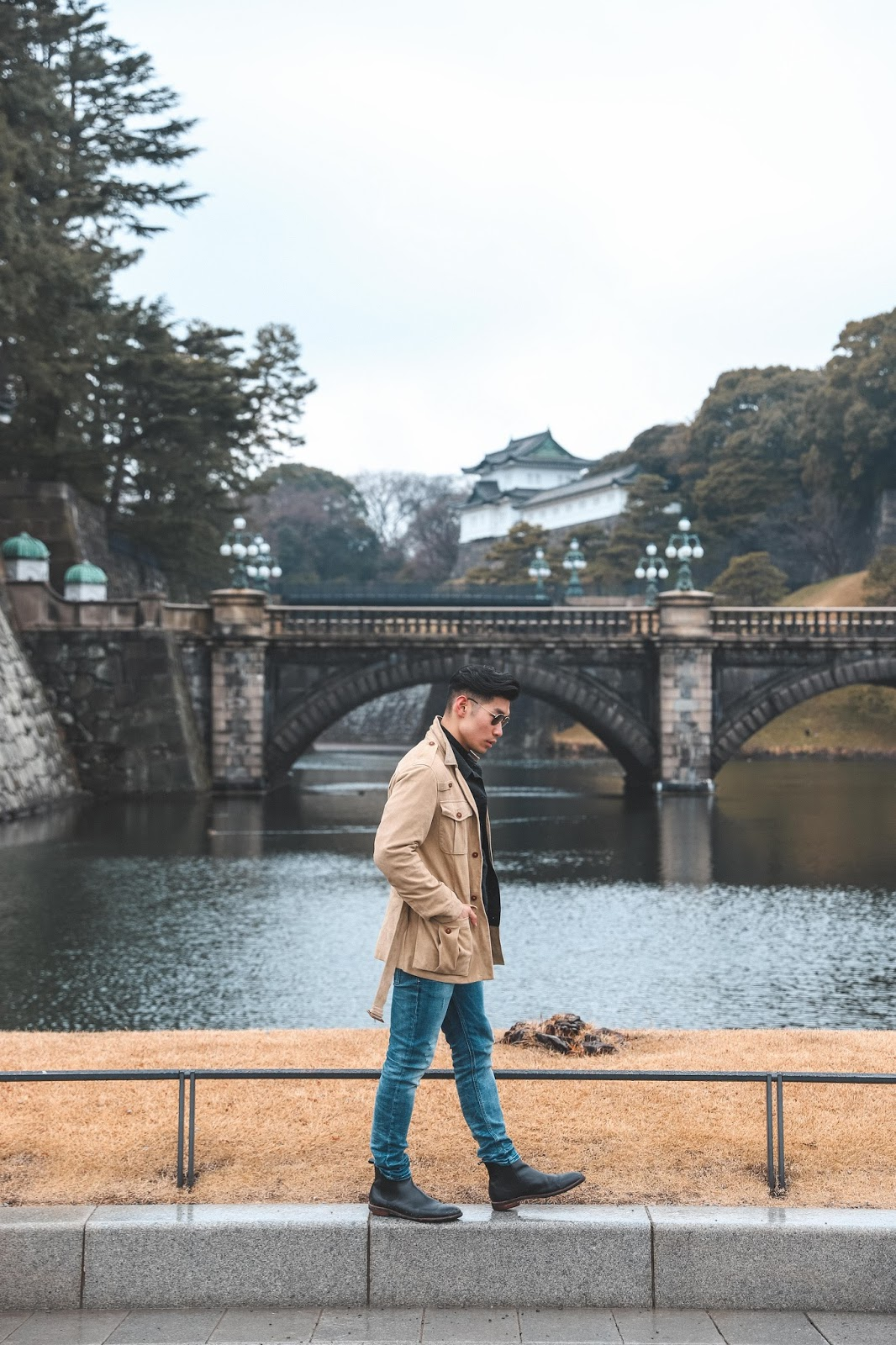 Levitate Style - How To Wear a Suede Jacket, Spring Menswear Look