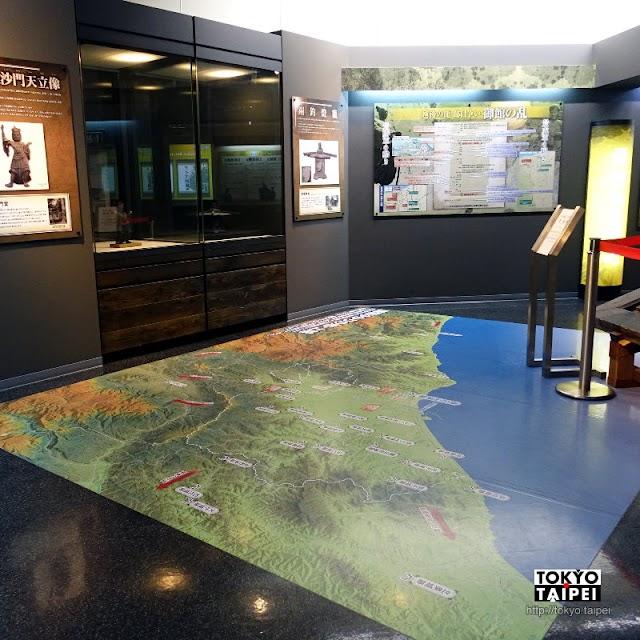 【上越市埋藏文化財中心】除了看春日山城展外 還有武將隊常駐在這