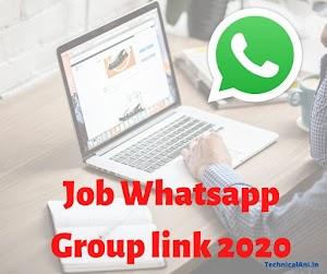 200+ Job Whatsapp Group link 2021
