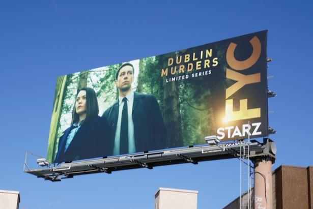 Dublin Murders FYC billboard