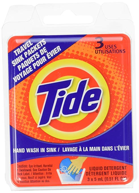 Tide Travel Sink Packs