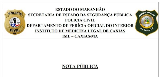 IML de Caxias desmente advogada sobre possível falta de perícia de conjunção carnal e lamenta aproveitamento político usando-se a dor de mulheres estupradas para se obter interesses pessoais