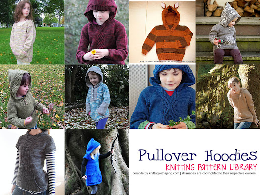 Pattern Library: Hoodie Pullover