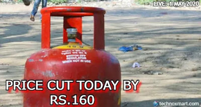 lpg cylinder price today