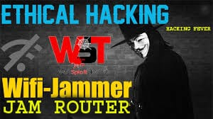 How To Jam Router Signal Using Website Latest Method |Ethical Hacking Fever