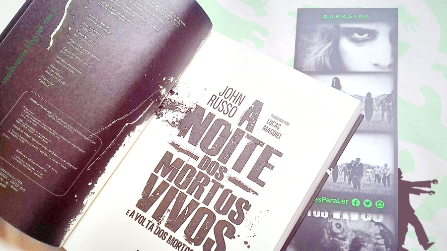 A Noite dos Mortos-Vivos, A Volta dos Mortos-Vivos, livros de zumbi, livros de terror, darkside
