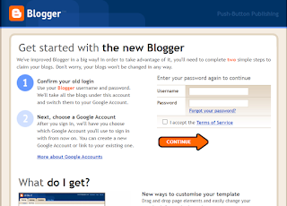 Blogger Legacy Site