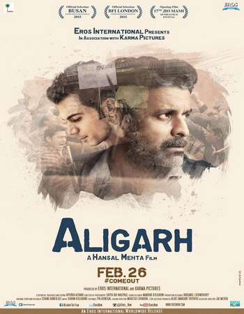 Aligarh 2016 Hindi 350MB DVDRip 480p ESubs Watch Online Full HD Quality PC Movie Free Download Worldfree4u