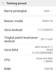 Cara mengetahui Hp Xiaomi
