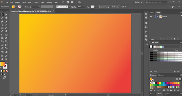 How to create Geometric Abstract Background in Adobe Illustrator?How to create Geometric Abstract Background in Adobe Illustrator