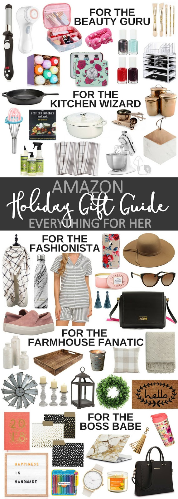 Amazon Holiday Gift Guide: For Her - Blooming Boldly