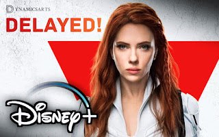 Black Widow & Shang-Chi Delayed, Black Widow Movie To Release on Disney+