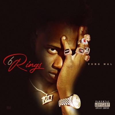 Yung Mal - 6 Rings (2020) - Album Download, Itunes Cover, Official Cover, Album CD Cover Art, Tracklist, 320KBPS, Zip album