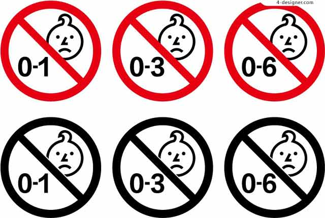 ilustrasi simbol produk layak anak