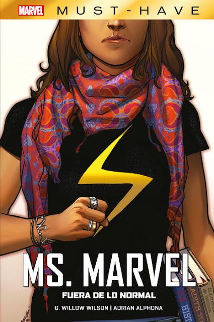 Marvel Must-Have. Ms Marvel: Fuera de lo normal de Mark Waid y Humberto Ramos - Panini Comics