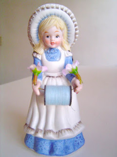 Restored Vintage Pincushion Doll by Nakpunar