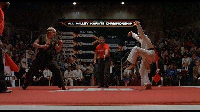 Mítica escena del torneo de Karate - Johnny Lawrence vs Daniel LaRusso