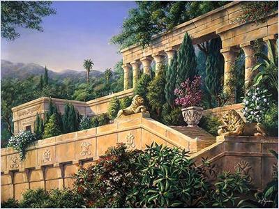 สวนลอยแห่งบาบิโลน (The Hanging Garden of Babylon)