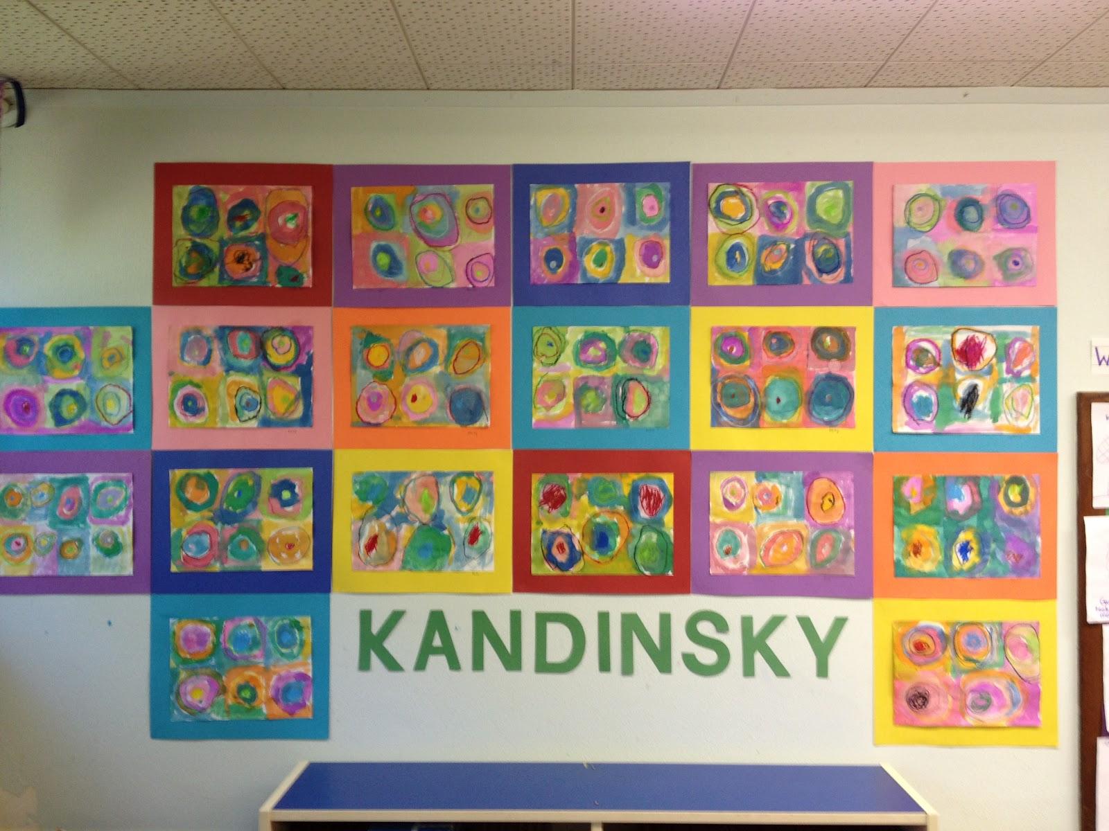 Mrs Goff S Pre K Tales Art Inspired By Kandinsky