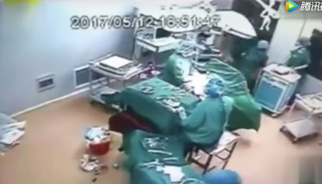 Nurses Fought Inside The Operating Room While They Were In The Middle Of A Surgery!