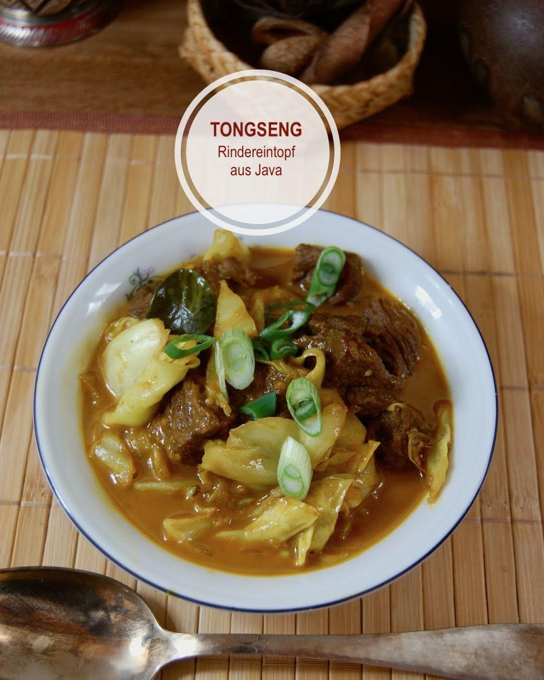 Tongseng, Würziger Rindereintopf aus Java