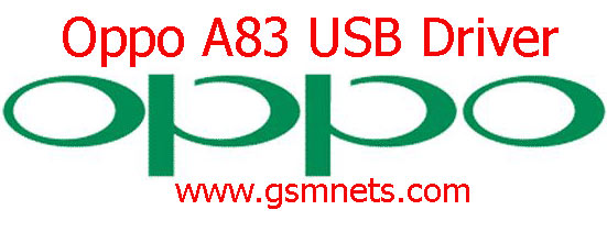 Oppo A83 USB Driver Download