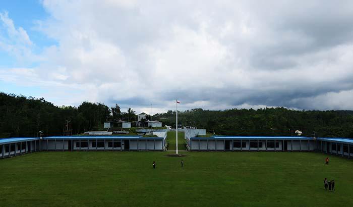 Lapangan di Monumen Jenderal Sudirman