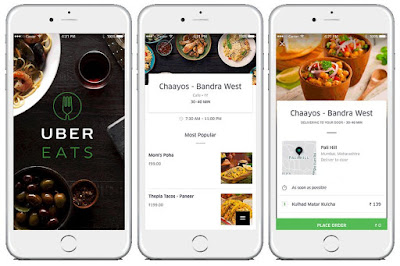 UberEATS on-demand food delivery app launched in India