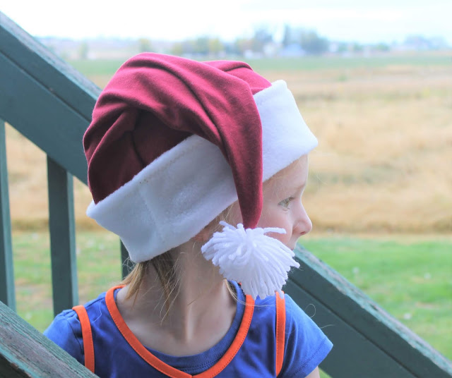 santa hat sewing pattern free