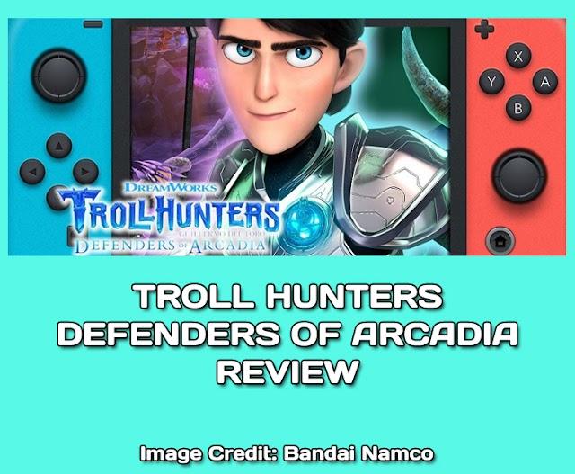 Trollhunters Defenders of Arcadia Review