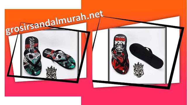 Grosir Sandal Murah || AMX CMR Spon Dewasa  Pria