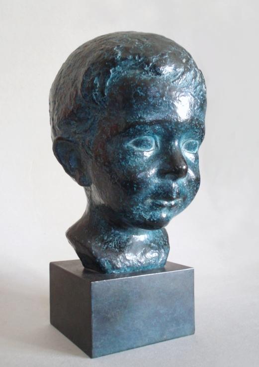 Edith_Lafay_sculpture_figurative_buste_gregoire