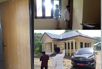 Walikota Kecewa, Bangunan Kantor Kelurahan Oi Mbo Diduga Dikerjakan Asal-Asalan
