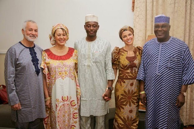 atiku son white wife