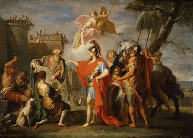 A ambição de Alexandre, o Grande