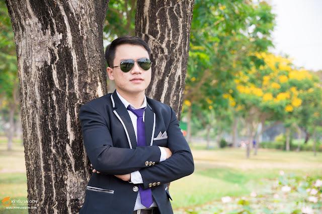 cho thuê áo vest nam kỷ yếu Sài Gòn
