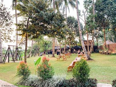 area garden dan ayunan Rummi Kopi Lan Tresna Kampoeng Banyumili
