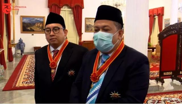 Usai Dapat Penghargaan dari Jokowi, Fahri Hamzah: Saatnya Mempersatukan Bangsa