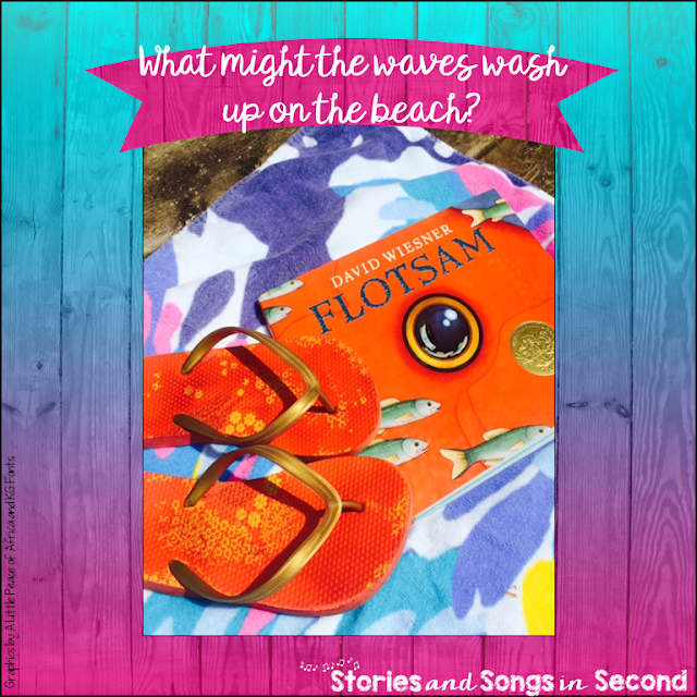 Students will love exploring the magic and the mystery of what lives in the ocean with David Wiesner's beautiful wordless picture book, Flotsam. Take them on a virtual field trip with the mind maps and writing response pages included as a FREEBIE in this post!