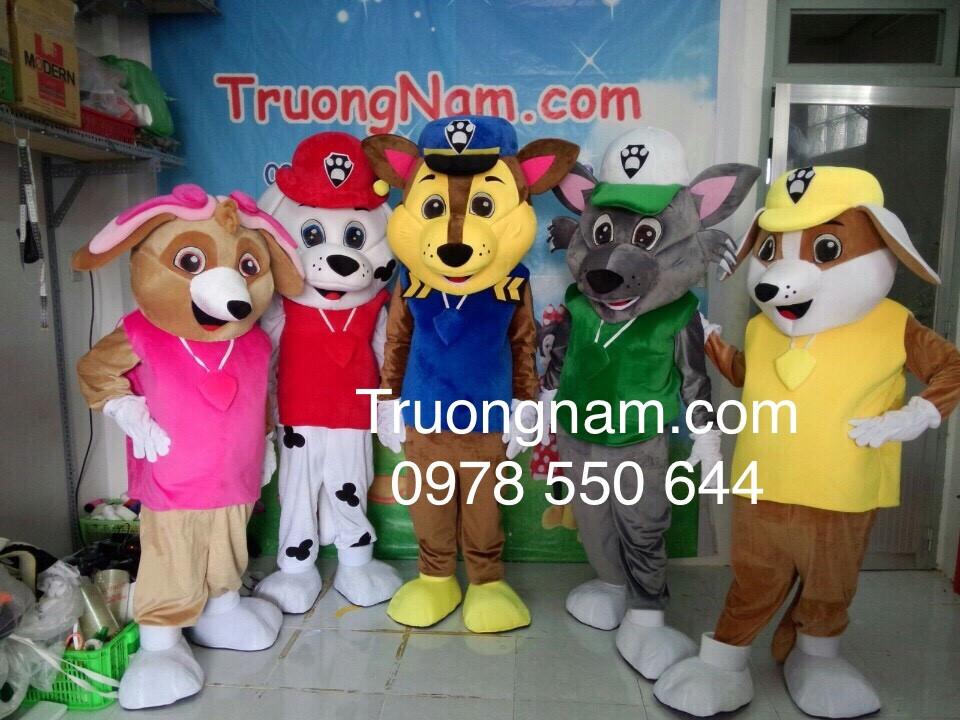 Kết quả hình ảnh cho mascot chó truongnam
