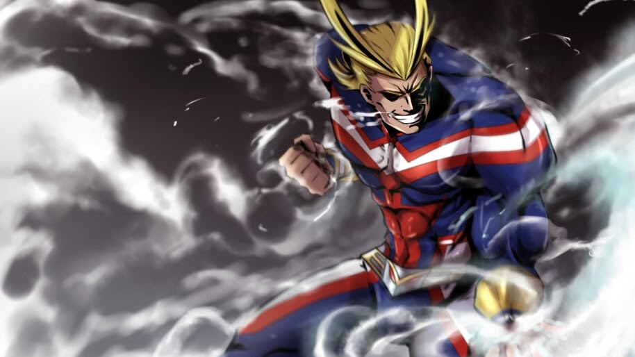 All Might 4k Wallpaper 5406
