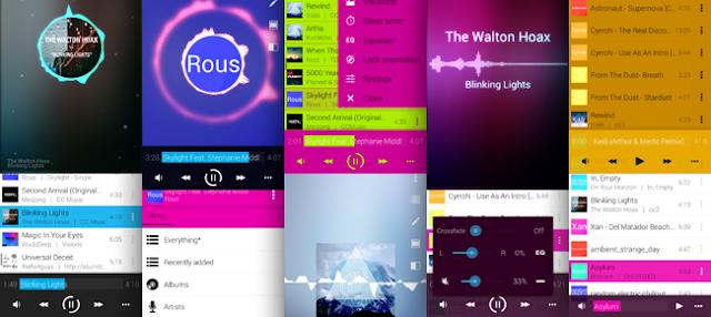 Avee Music Player P.ro Mod Apk 1.2.83 - Tạo sóng nhạc trên điện thoại