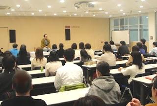 三遊亭楽春講演会「笑いの効果でコミュニケーション」