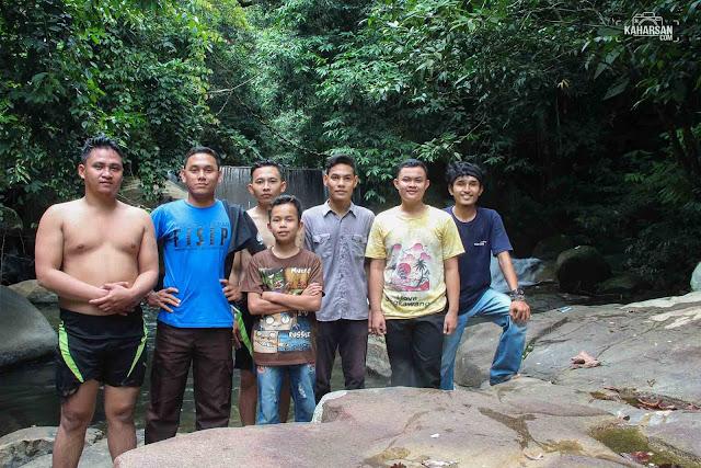 Rombongan Air Terjun Tengai' Wisata Kec Nanga Mahap Kab Sekadau - kaharsan