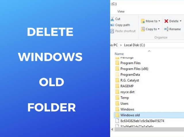 How to Delete Windows.old Folder From Windows 10