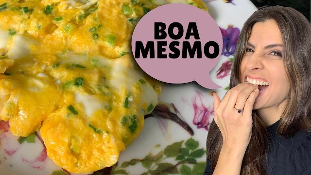 Como fazer uma omelete boa de verdade!