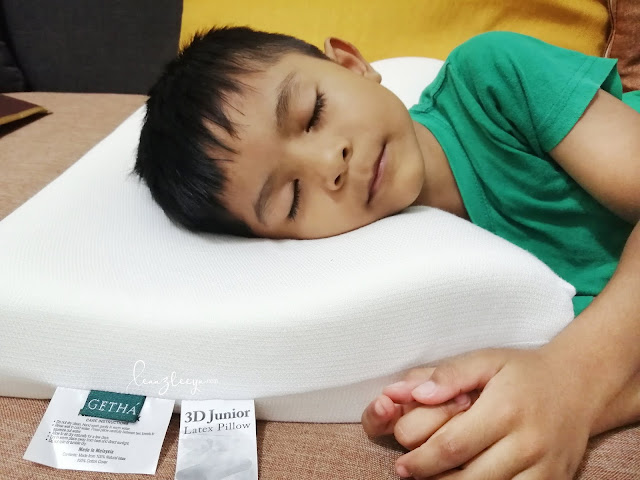 Bantal GETHA 100% Natural Latex Membantu Tidur Lebih Lena Dan Berkualiti