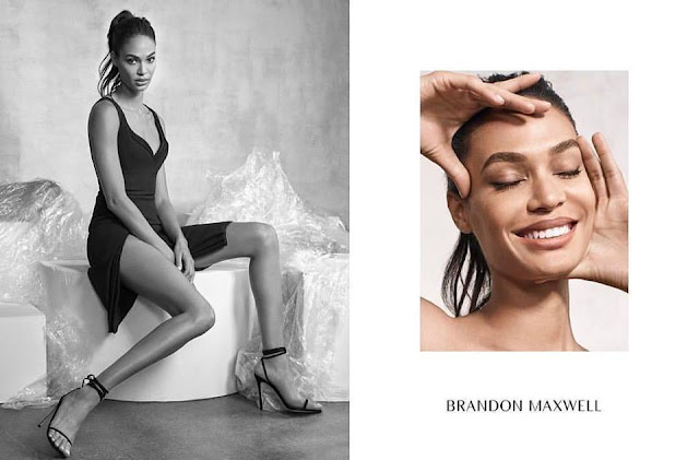 Joan Smalls stars in Brandon Maxwell's fall-winter 2017 campaign