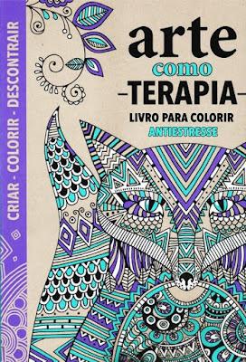 livro de colorir arte como terapia queen books promoção desconto melhor livro para colorir antiestresse arteterapia