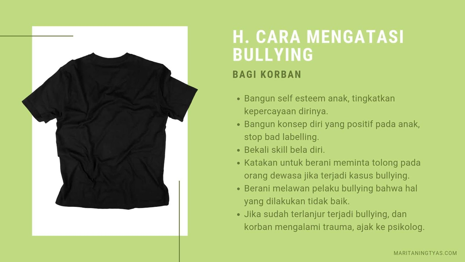 cara mengatasi bullying pada korban
